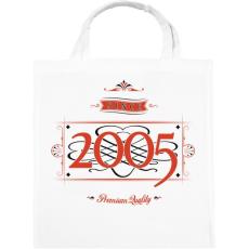 PRINTFASHION since-2005-red-black - Vászontáska - Fehér