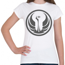 PRINTFASHION Star Wars Old Republic logo - Női póló - Fehér