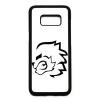 PRINTFASHION stencil oroszlán - Telefontok - Fehér hátlap