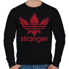 PRINTFASHION Stranger - Férfi pulóver - Fekete
