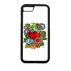 PRINTFASHION Szerelmes szivek - Telefontok - Fehér hátlap