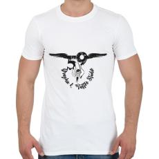 PRINTFASHION tattoologo - Férfi póló - Fehér