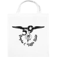 PRINTFASHION tattoologo - Vászontáska - Fehér