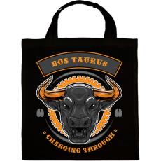 PRINTFASHION Taurus - Vászontáska - Fekete