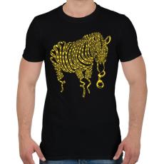 PRINTFASHION Természetkárosítás - Férfi póló - Fekete