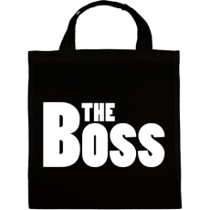 PRINTFASHION The Boss - Vászontáska - Fekete
