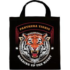PRINTFASHION Tigris - Vászontáska - Fekete