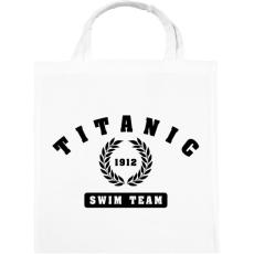 PRINTFASHION titanic-swim-team-black - Vászontáska - Fehér