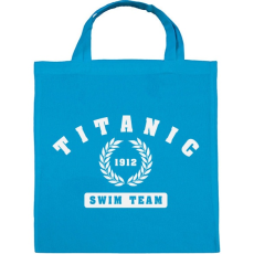 PRINTFASHION titanic-swim-team-white - Vászontáska - Kék