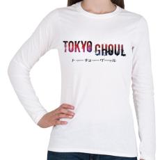 PRINTFASHION Tokyo ghoul - Női hosszú ujjú póló - Fehér