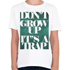 PRINTFASHION Trap - Gyerek póló - Fehér