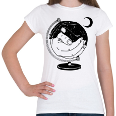 PRINTFASHION Új világ - Női póló - Fehér