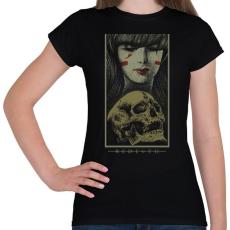 PRINTFASHION Újjászületés - Női póló - Fekete