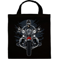 PRINTFASHION Vad motoros - Vászontáska - Fekete