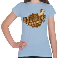 PRINTFASHION Vadló - Női póló - Világoskék