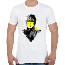 PRINTFASHION Vhs man - Férfi póló - Fehér