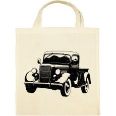 PRINTFASHION Vintage truck - Vászontáska - Natúr