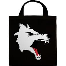 PRINTFASHION Wolf - Vászontáska - Fekete