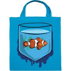 PRINTFASHION Zseb hal - Vászontáska - Kék