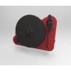 Pro-Ject VT-E R jobb kezes analóg lemezjátszó piros Orofon OM5e hangszedővel szerelve
