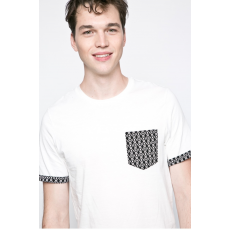 PRODUKT by Jack & Jones - T-shirt Noice Pocket - krém - 998706-krém