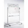 Professional forgatható whiteboard, 100x200 cm