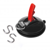 ProPlus 758082 tapadókorong kötőelem gyűrűvel és 2 db S-kampóval