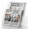 Prospektustartó Durable Combibox asztali vagy fali 1 db A/4 + 4 db LA/4 szett