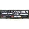 """PROXXON 23020 Racsnis Dugókulcs készlet 27 részes 6-32mm ( 1/4""""-1/2"""" )"""