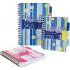 Pukka pad Spirálfüzet, A4, vonalas, 125 lap, PUKKA PAD  Stripe project book