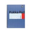 Pukka pad Spirálfüzet, A4+, vonalas, 75 lap, PUKKA PAD, Easy-riter, kék (PUPBERM9V)