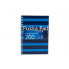 """Pukka pad Spirálfüzet, A5, kockás, 100 lap, PUKKA PAD, """"Navy Jotta"""", kék"""