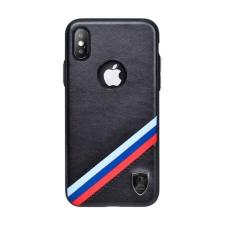Puloka Criss-cross prémium hátlaptok Apple iPhone Xs Max, fekete tok és táska