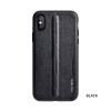 Puloka Style prémium hátlaptok Apple iPhone X, fekete