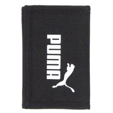 Puma Fekete tépőzáras textil pénztárca Puma