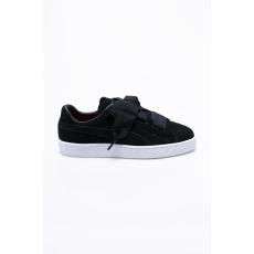 Puma - Gyerek cipő Suede Heart Valentine - fekete - 1259324-fekete