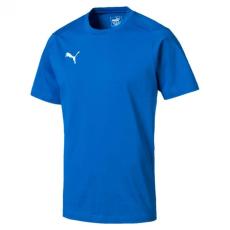 PUMA Safety Puma Liga Casuals póló - royal kék