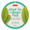 PureDerm Green Tea circle bőrtisztító és hidratáló fátyolmaszk, 1 db