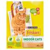 Purina Friskies Indoor Cats teljes értékű felnőtt macskaeledel csirkével és kerti zöldségekkel 300 g