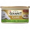 Purina Gold szószos ínyencség 12 x 85 g - Marha- és csirkehús paradicsomszószban