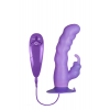Purrfect Silicone SUCTION CUP DUO VIBE
