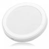 Qi töltőállomás, vezeték nélküli indukciós töltő fehér