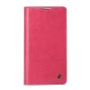QIALINO Classic Samsung Galaxy Note 3 oldalra nyíló eredeti bőr flip tok, rózsaszín