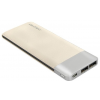 Qoltec 51988 Power Bank Slim 10000 Li-polymer arany