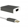 Qoltec Adapter USB 3.1 TYPE C male ; HDMI A female