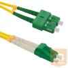 Qoltec Optic Patchcord SC/APC-LC/APC ; Singlemode ; 9/125 ; G652D ; Duplex ; 3m