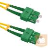 Qoltec Optic Patchcord SC/APC-SC/APC | Singlemode | 9/125 | G652D | Duplex |1,5m