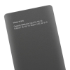 Qoltec POWER BANK GRAY 9000MAH LI-POLY