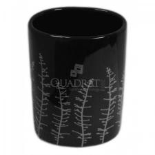 QUADRAT - Kerámia, CLASSIC BLACK Family, fürdőszoba kiegészítő fürdőkellék
