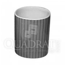 QUADRAT - Kerámia, LINE BLACK Family, fürdőszoba kiegészítő fürdőkellék
